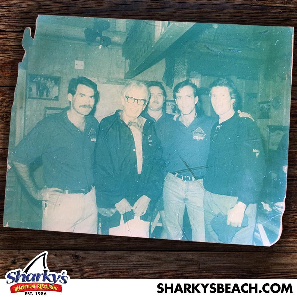 Orville Redenbocker at Sharky's