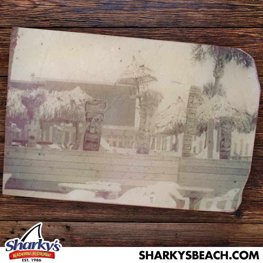 Sharky's original tiki