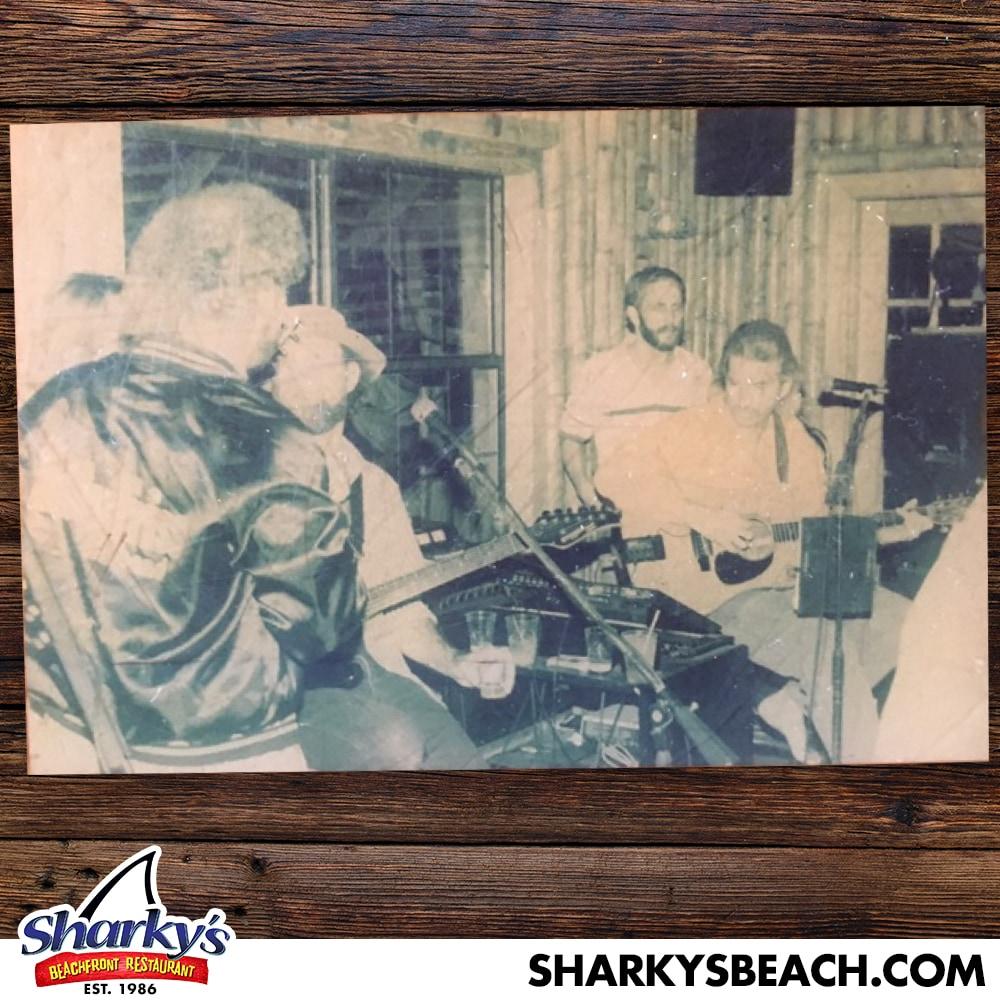Band Playing at Sharky's