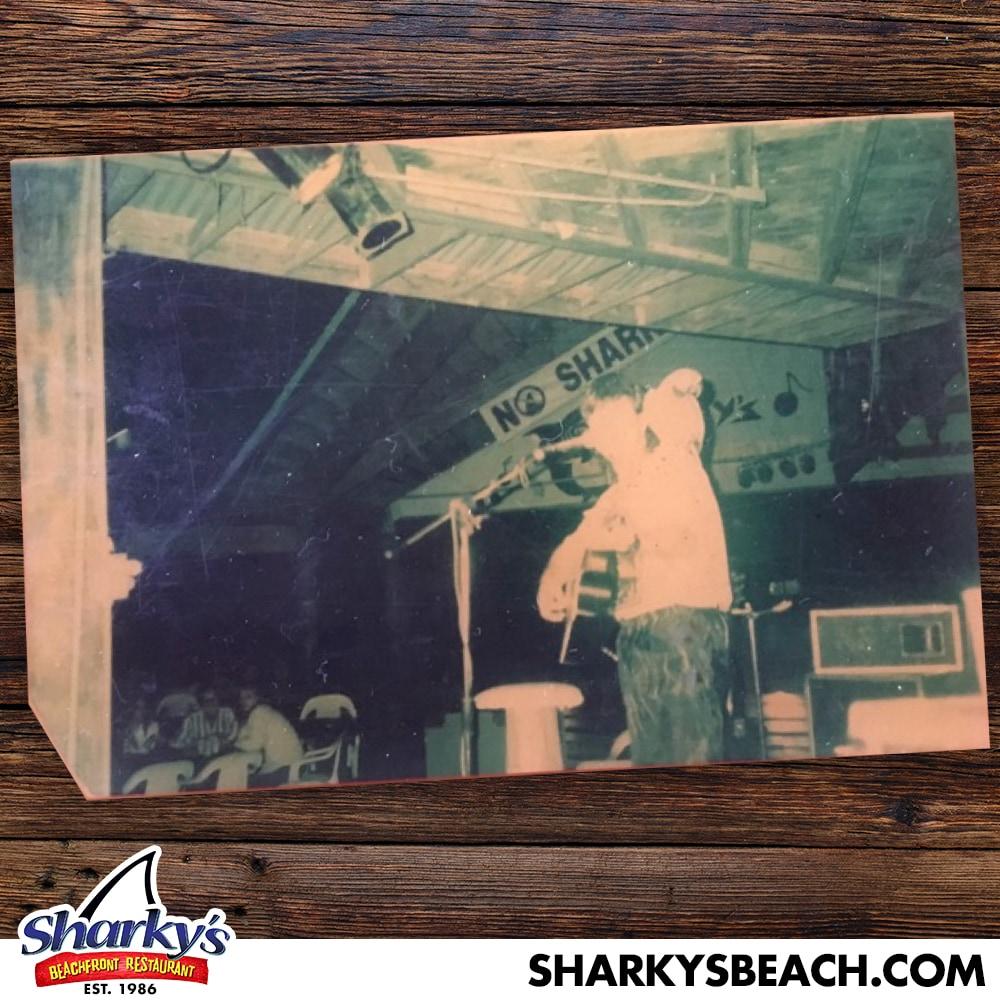 Band playing LIVE at Sharky's