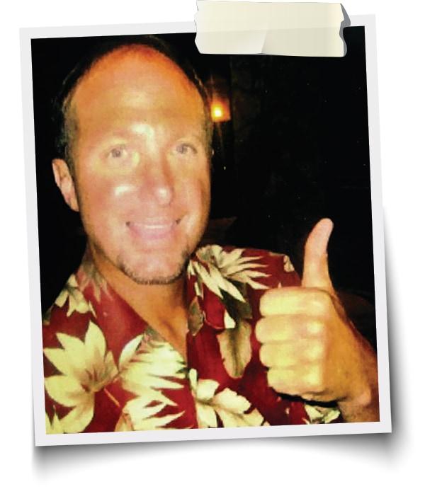 Clark Bennett, founder of Sharky's