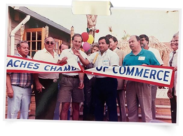 Panama City Beach Chamber of Commerce Ribben Cutting